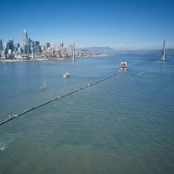 "The Ocean Cleanup dispatches ""giant Pac-Man"" to remove plastic from the Pacific"