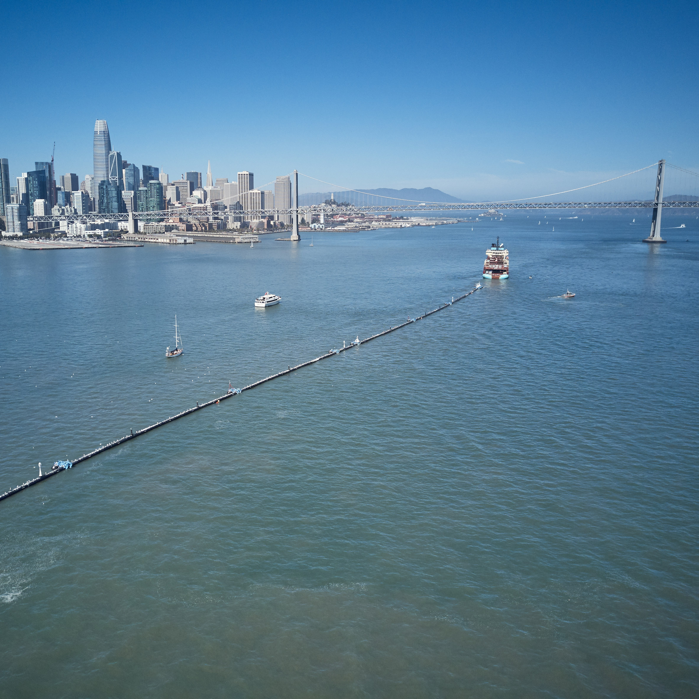 The Ocean Cleanup launches System 001