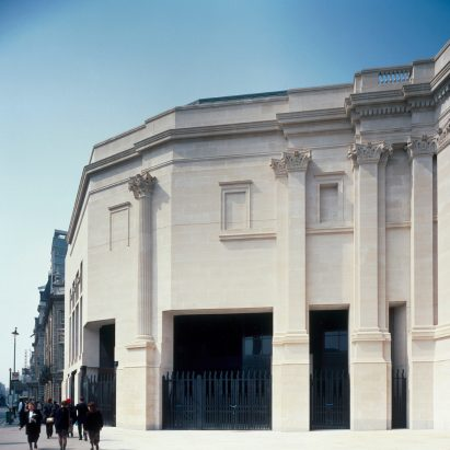 Sainsbury Wing at London's National Gallery by Venturi Scott Brown Architects