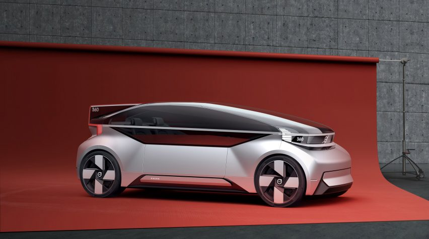 Volvo's 360c concept condenses the home into the car