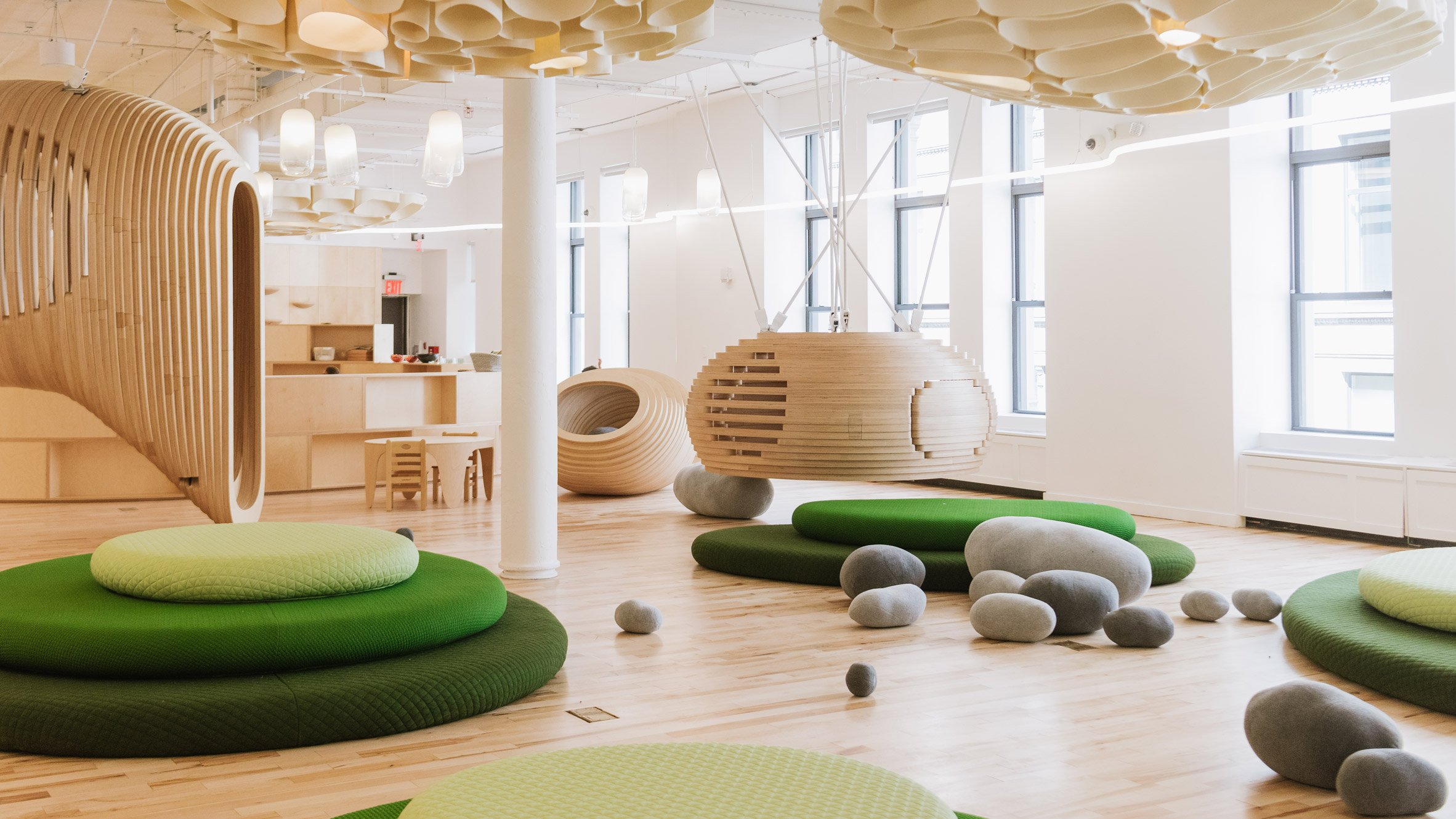 Big S New York City School For Wework Encourages Interaction