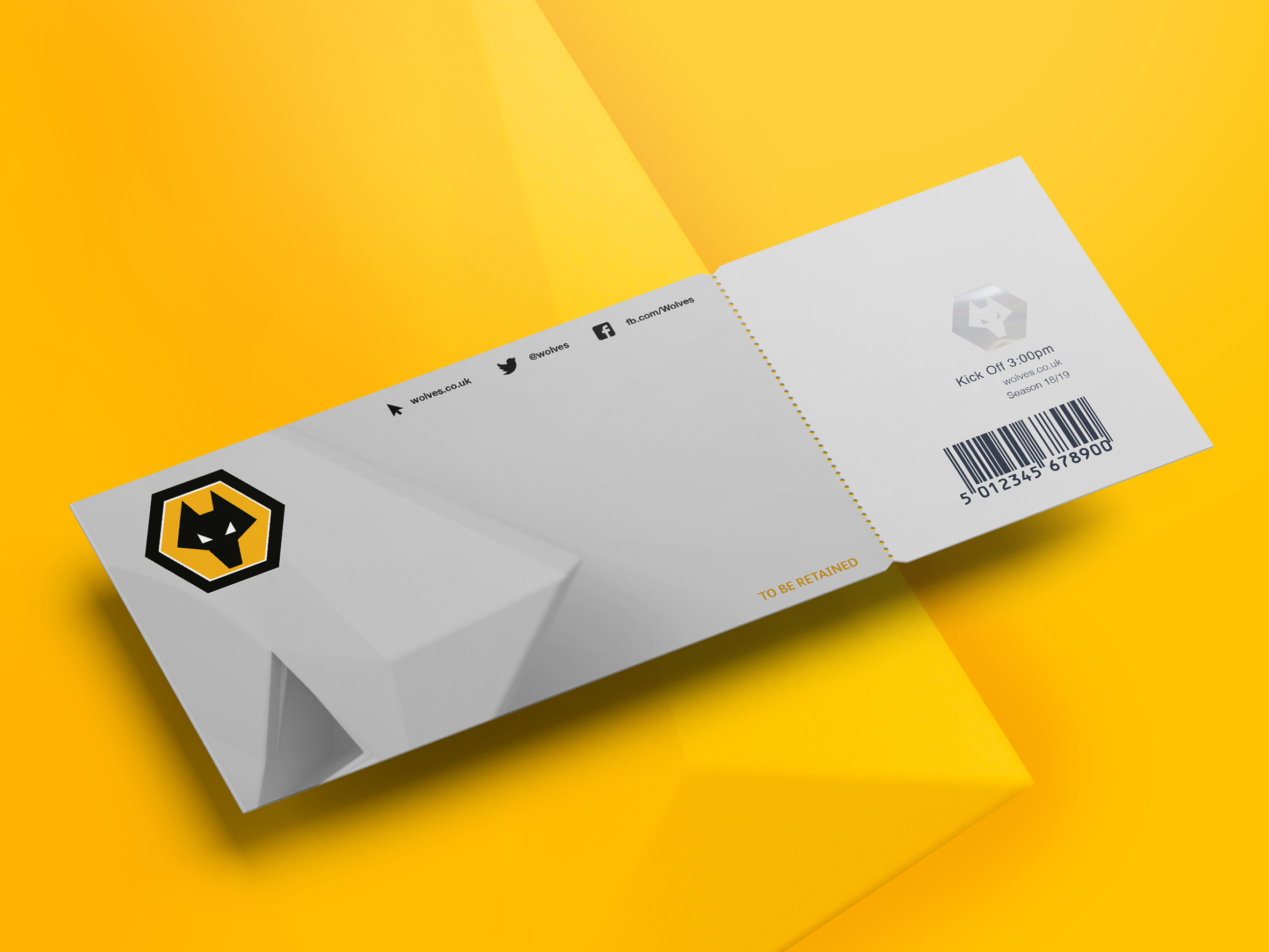 d4187fb0ea1 Wolves football club unveils new visual identity featuring 3D wolf head