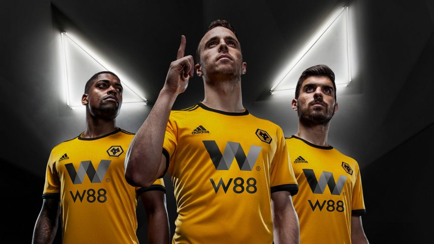 Wolves football club unveils new visual identity featuring 3D wolf head