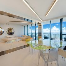 Zaha Hadid's Miami apartment