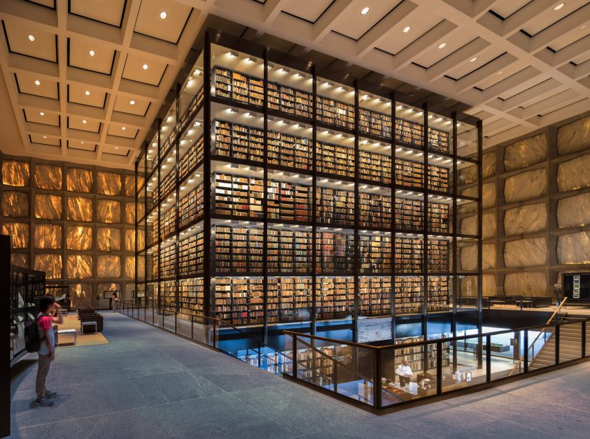 Beinecke Library by Gordon Bunshaft, New Haven, Connecticut