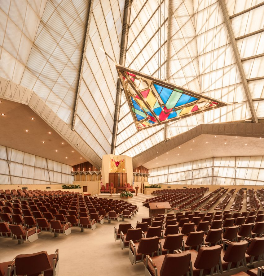 Temple Beth Sholom by Frank Lloyd Wright, Elkins Park, Pennsylvania