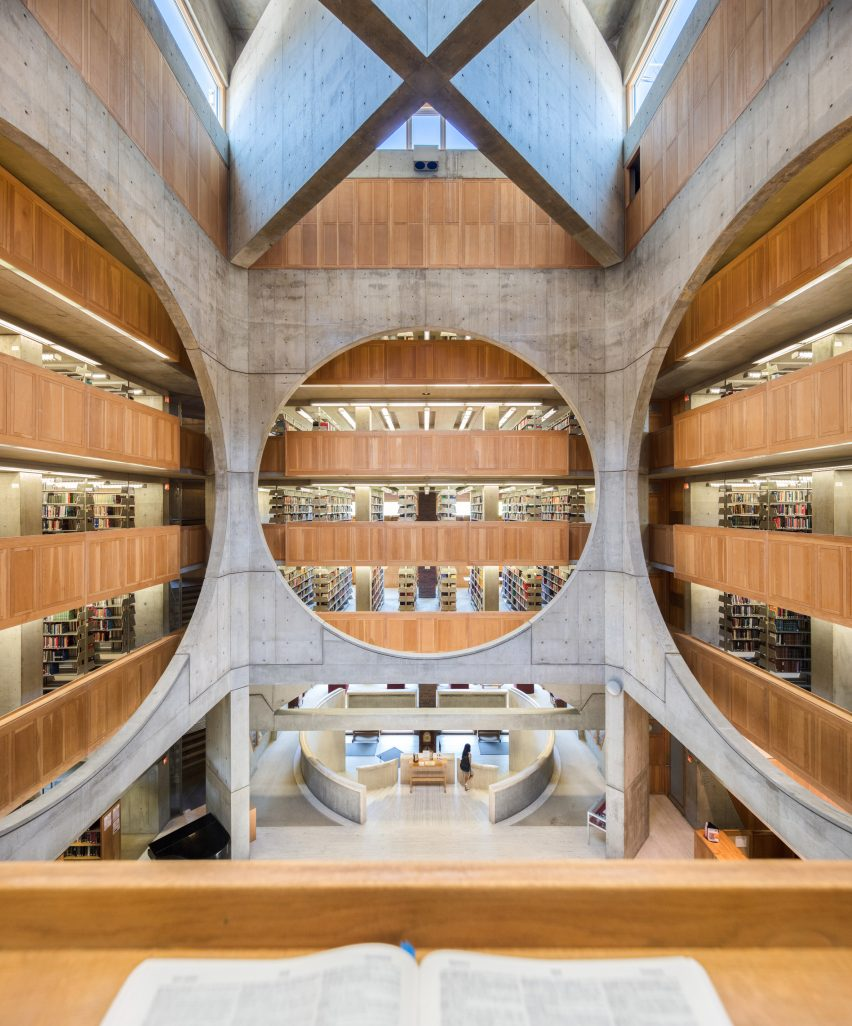 Phillips Exeter Academy Library by Louis Kahn, Exeter, New Hampshire