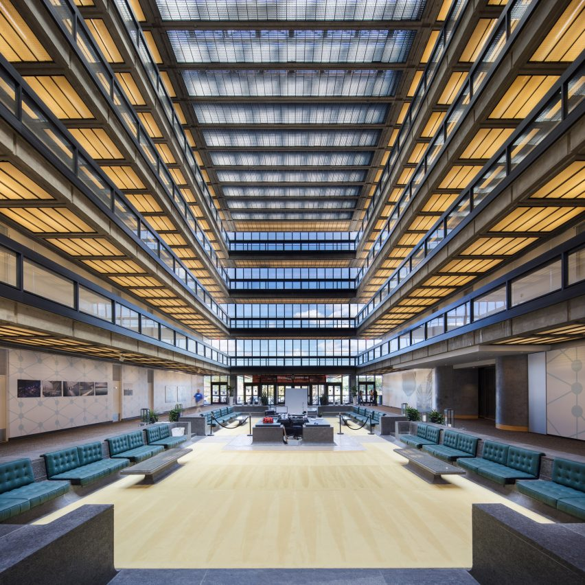 Bell Labs by Eero Saarinen, Holmdel, New Jersey