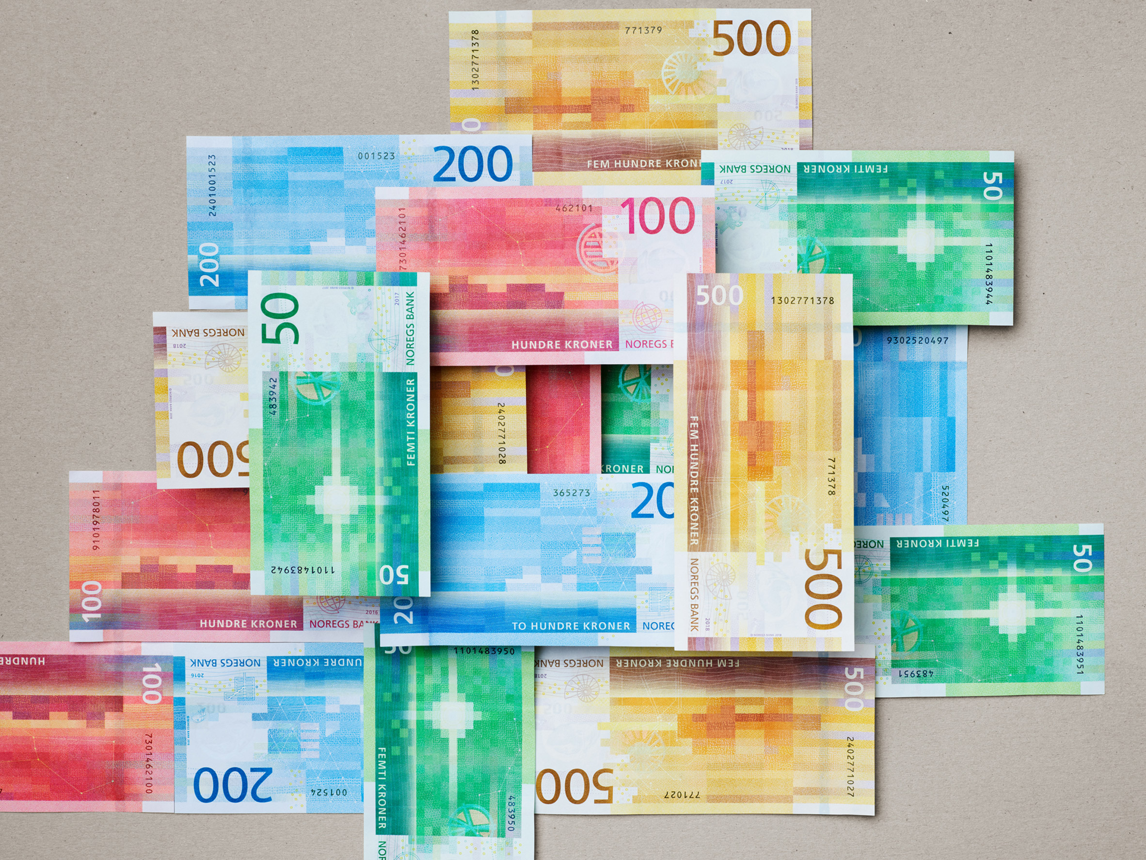 Norwegian National Bank Notes