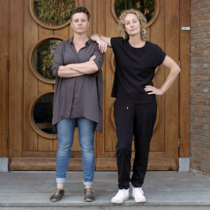 Atelier NL co-founders Nadine Sterk and Lonny van Ryswyk portrait