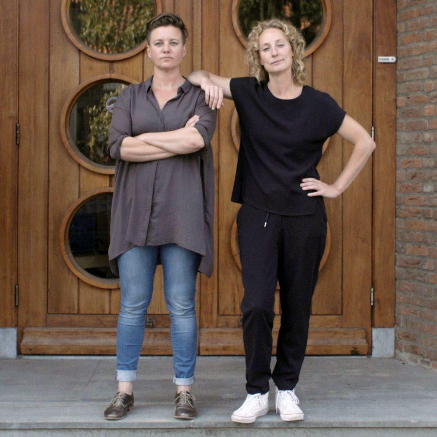 Atelier NL co-founders Nadine Sterk and Lonny van Ryswyk portrait