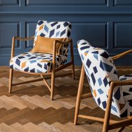Christopher Farr launches two patterned textiles from the Anni Albers archive