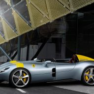 Ferrari's latest sports cars have no roofs or windshields