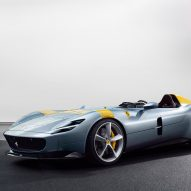 Ferrari's latest carbon-fibre sports cars have no windshield or roof