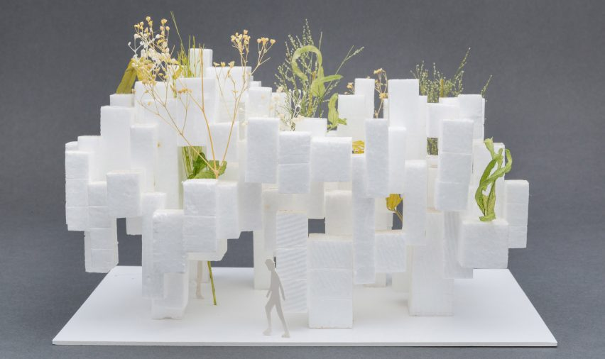 Sou Fujimoto has donated two architectural models of Home for All projects