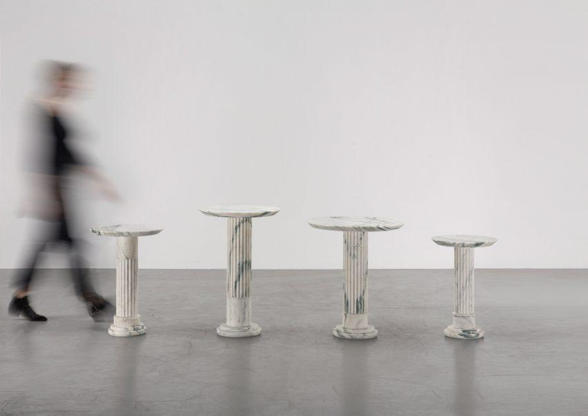Karl Lagerfeld debuts sculptural works at Carpenters Workshop Gallery