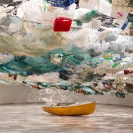 Tadashi Kawamata fills Lisbon's MAAT with plastic to warn about ocean debris