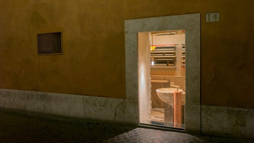 Aesop San Lorenzo by Studio Luca Guadagnino