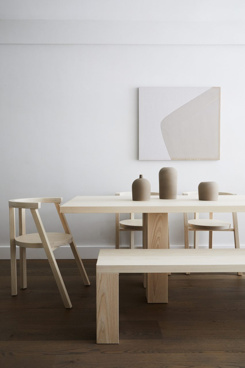 Hamptonu0027s Beach Landscape Informs Minimalist Furniture Collection