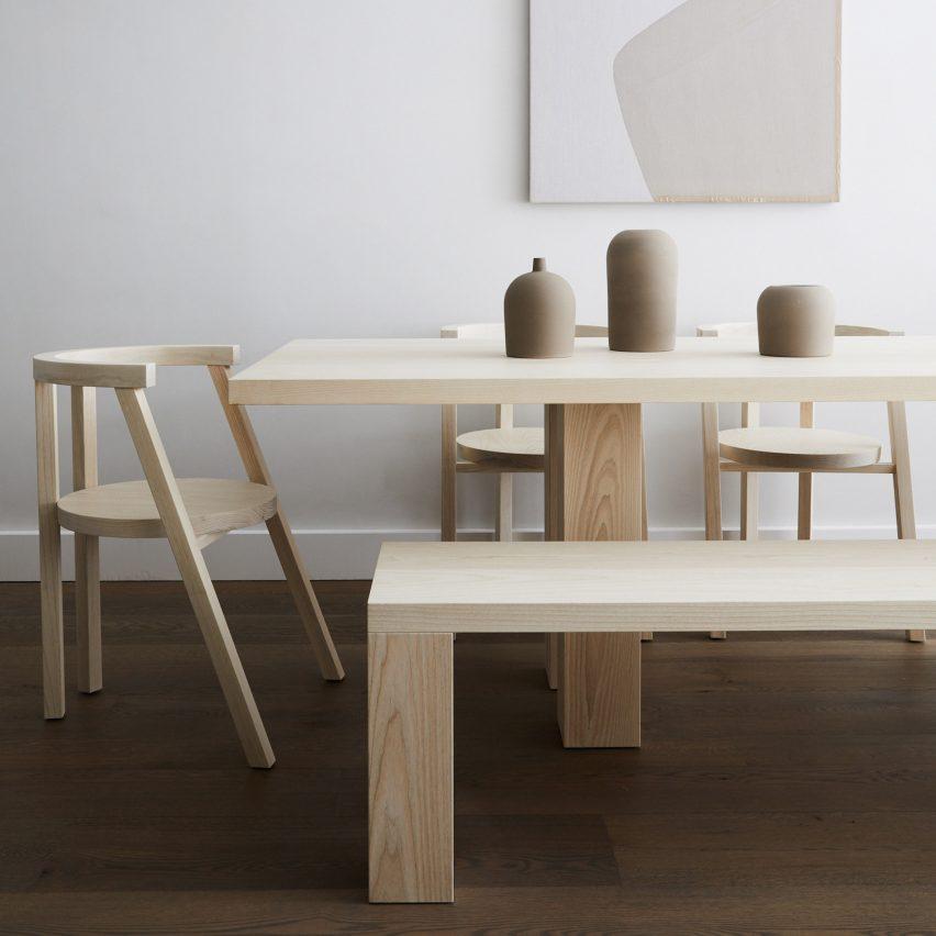 Hampton's beach landscape informs minimalist furniture collection