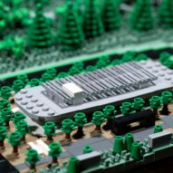 Lego Apple Park by Spencer Rezkalla