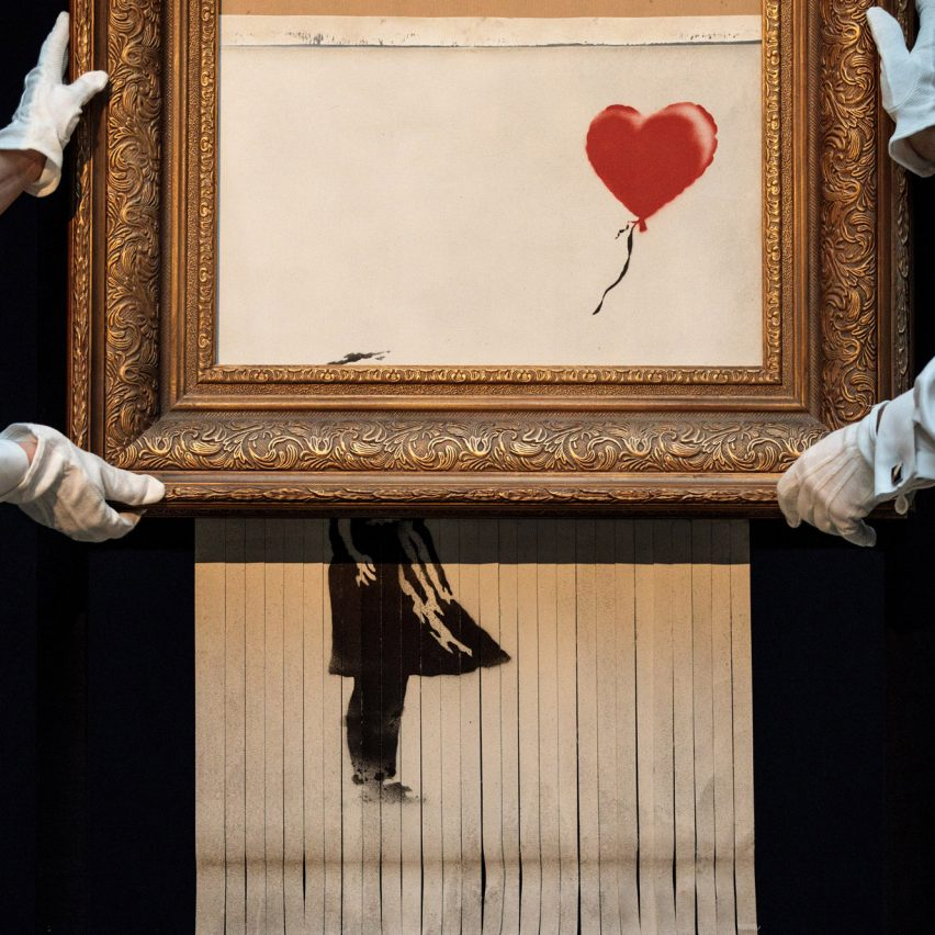 Banksy authenticates work that self-destructed in auction room