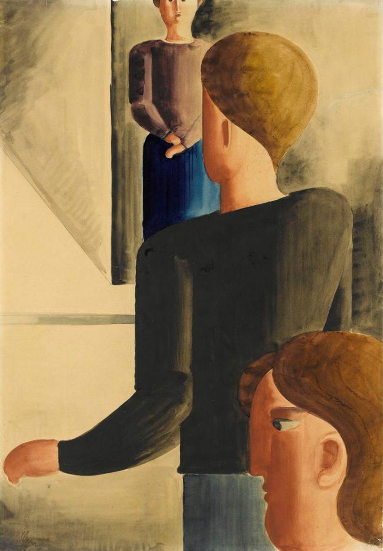 Bauhaus from A – Z: Oskar Schlemmer
