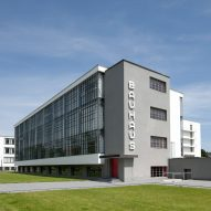 Walter Gropius designed school in Dessau to reflect the Bauhaus values