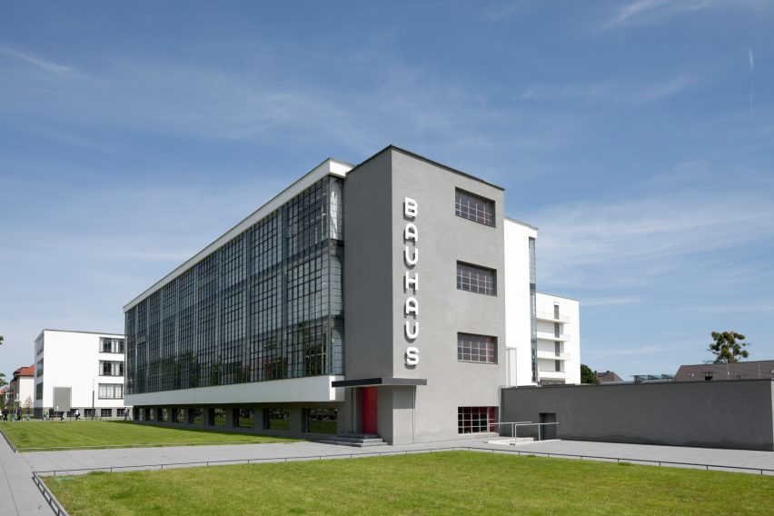 Bauhaus School in Weimar by Walter Gropius