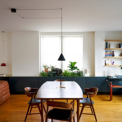 Brass Details Decorate Bergen Street Apartment By General Assembly