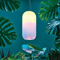 BIG and Artemide's Gople lamp helps plants grow indoors