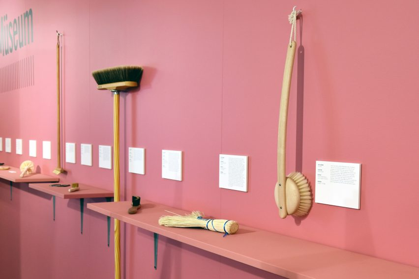 Bürstenhaus Redecker Müseum is a travelling showcase of brushes curated by Michael Marriott