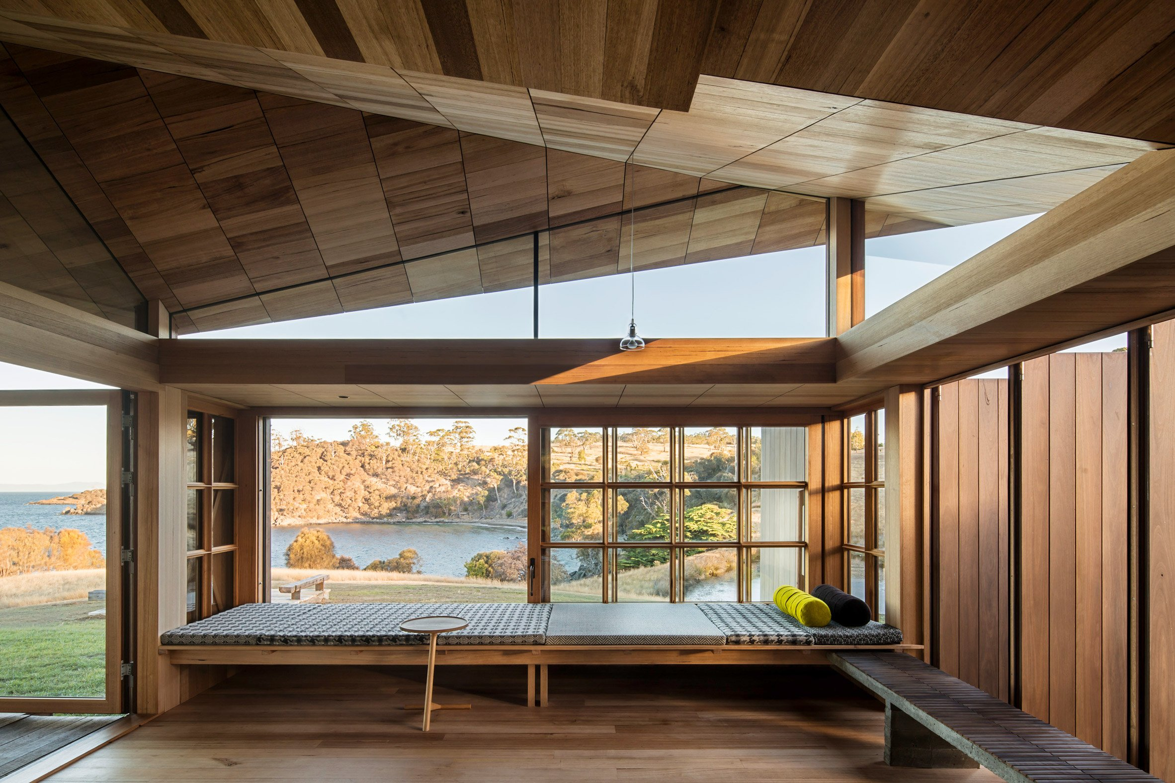 John Wardle Architects restores and extends Captain Kelly's forgotten Tasmanian cottage