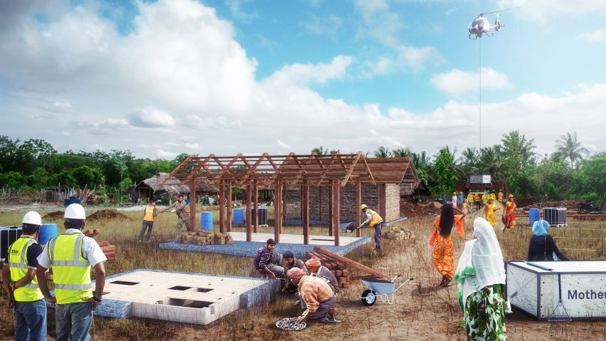Carlo Ratti Develops Livingboard Prefab Housing System For Rural India