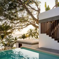 Main Office staggers Casa LT down lush slope in Mexican surf village