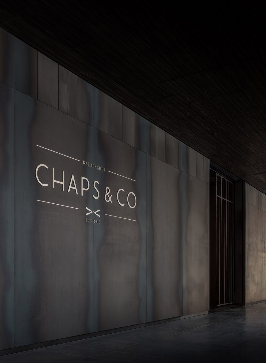 Chaps & Co, Dubai by Nicholas Szczepaniak Architects