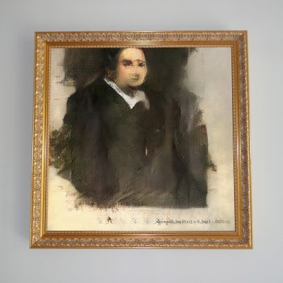 Christie's to auction AI artwork painted by an algorithm