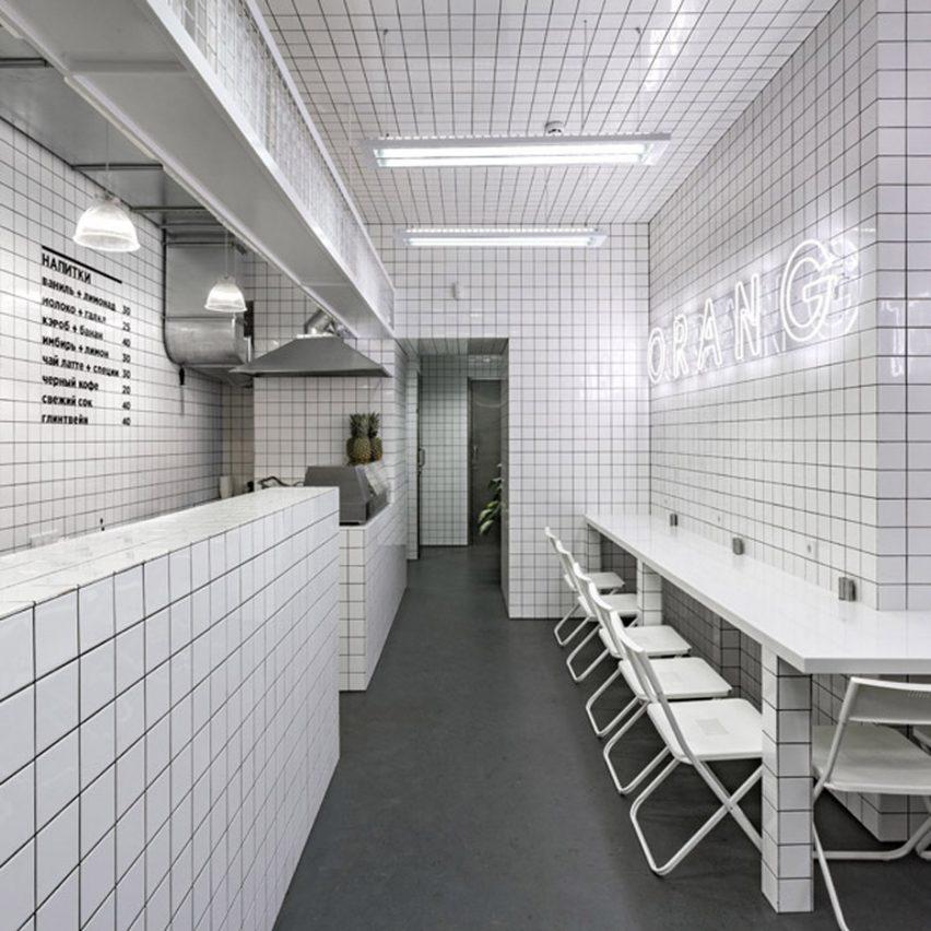 Dezeen roundups: City cafes