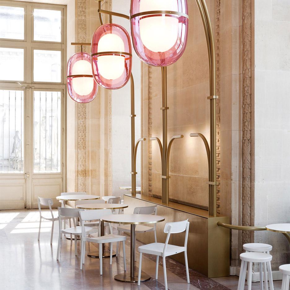 Cafe Mollien (Париж, Франция) by Mathieu Lehannuer