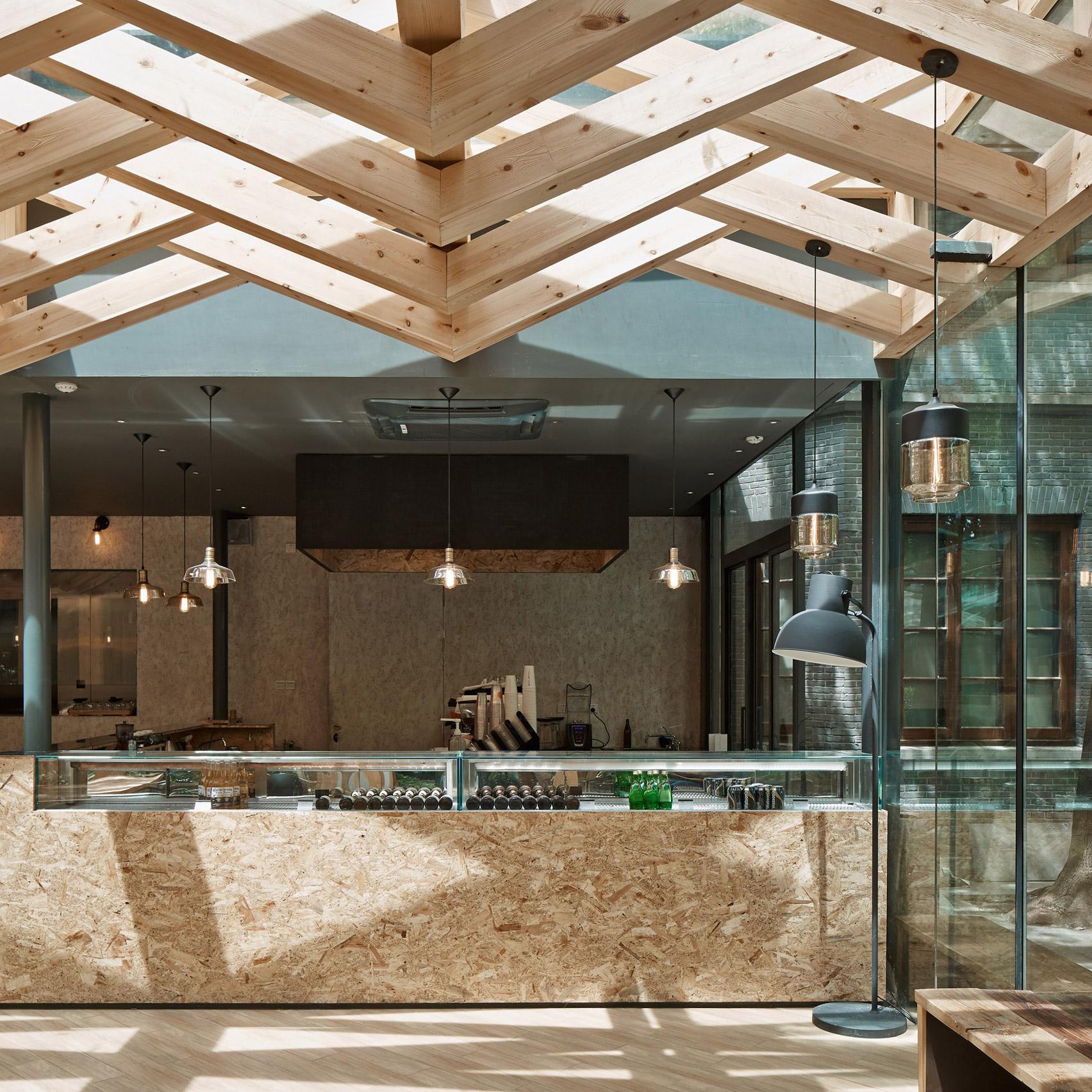 Xie Xie Cafe (Ханчжоу, Китай) by Kooo Architects