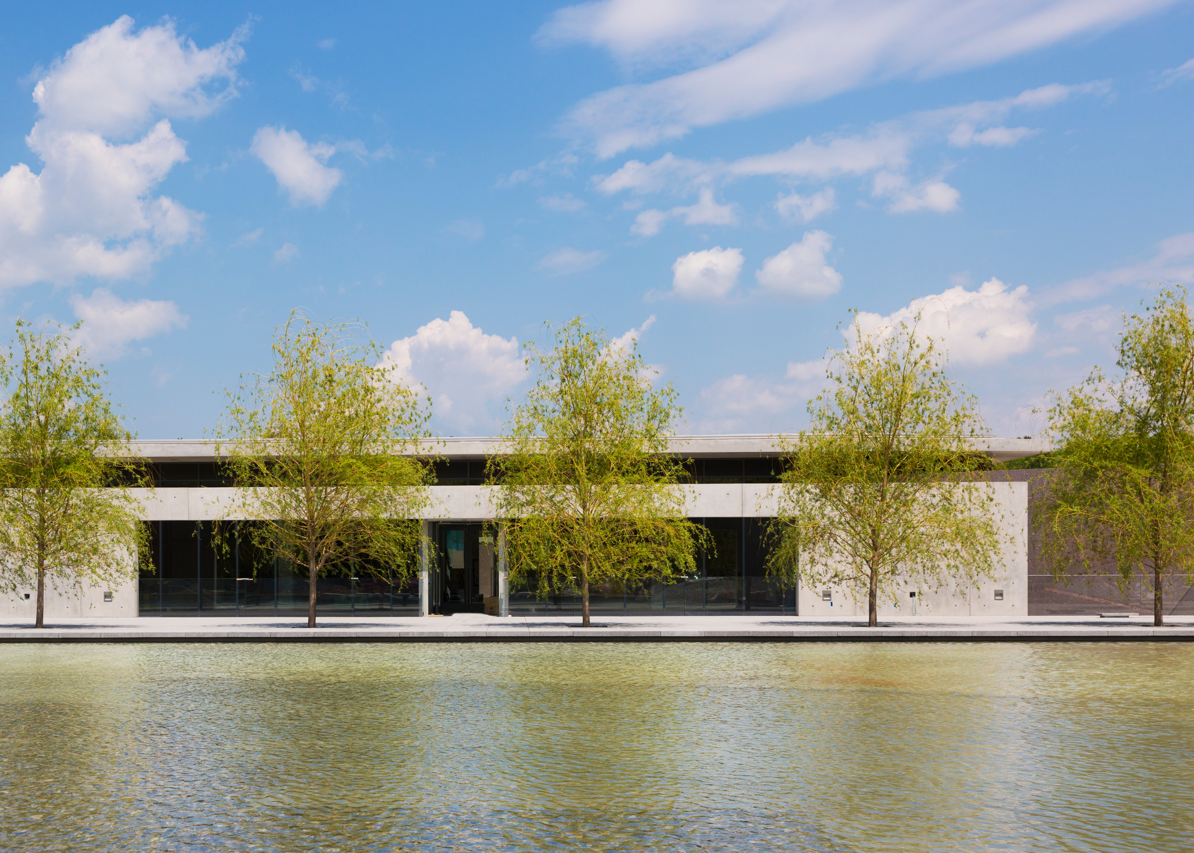 Clark Art Institute expansion by Tadao Ando and Annabelle Selldorf, Williamstown, Massachusetts