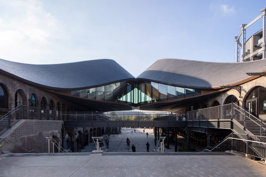 Coal Drop Yards shopping centre at King's Cross by Thomas Heatherwick Studio