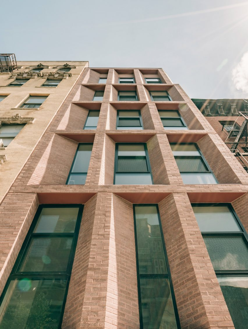 East Harlem housing by Robert Marino Architects and Leehong Kim