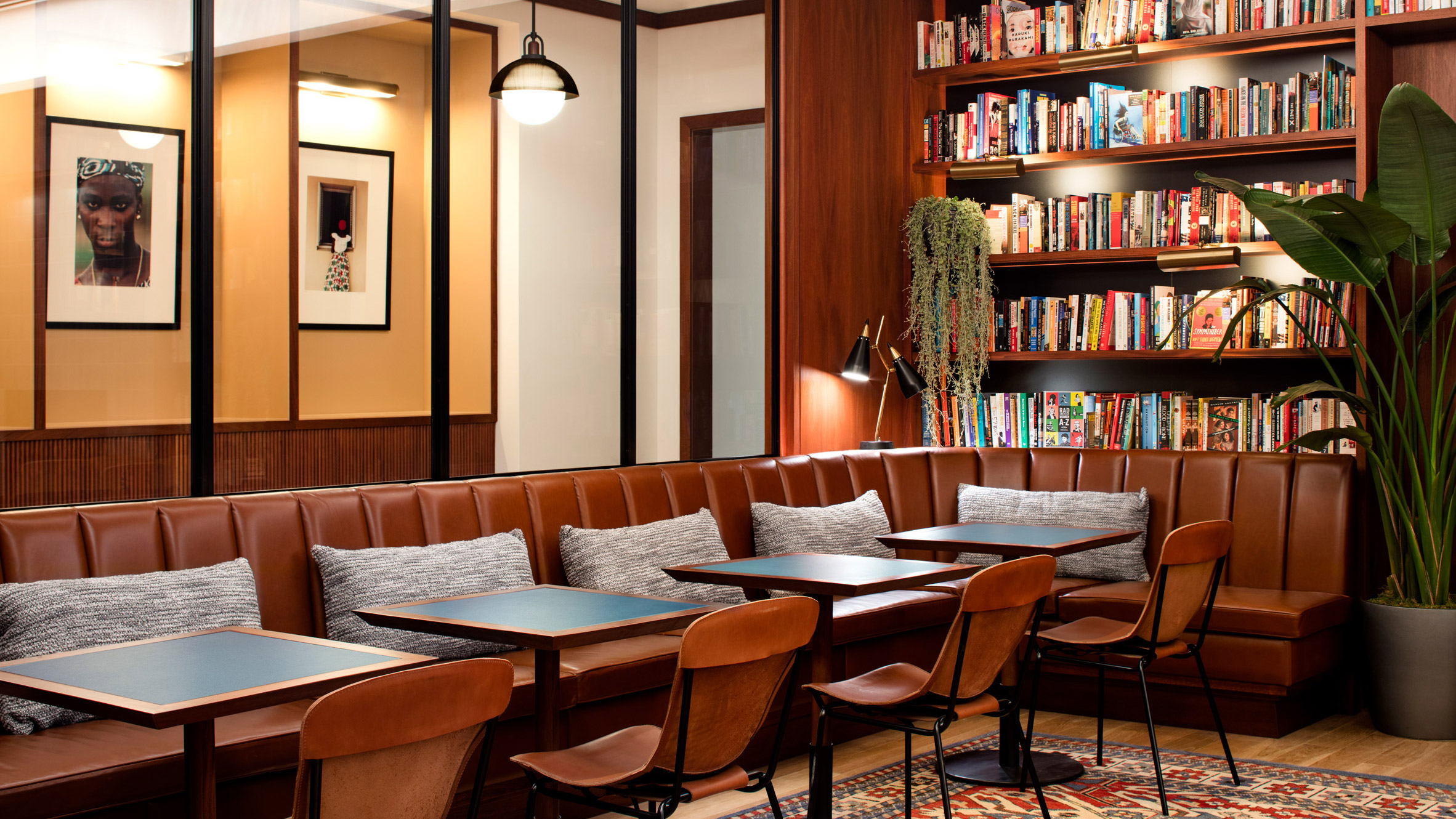 Beau Eaton DC Hotel Mixes Politically Charged Elements With Retro ...