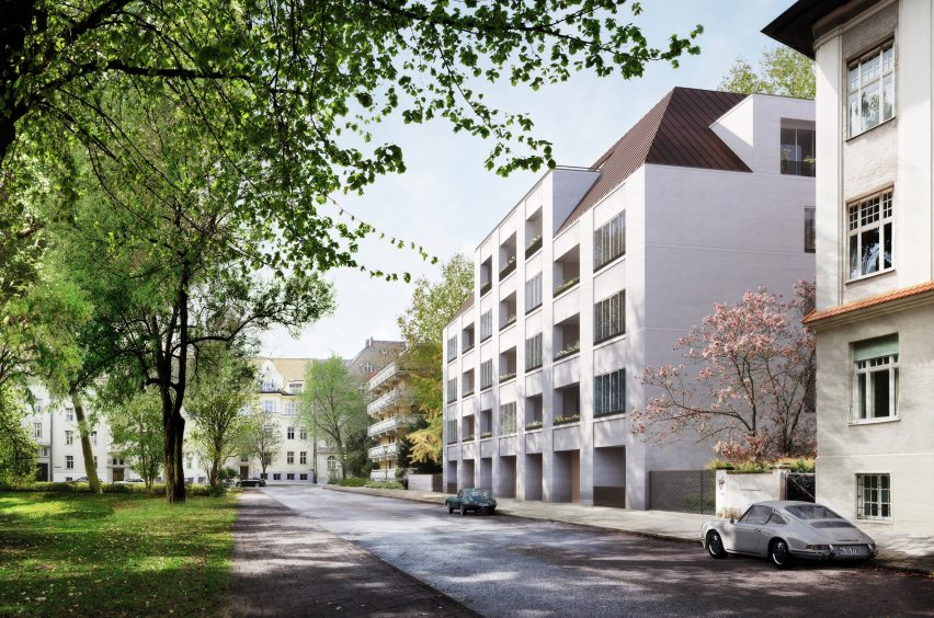 David Chipperfield Euroboden apartments
