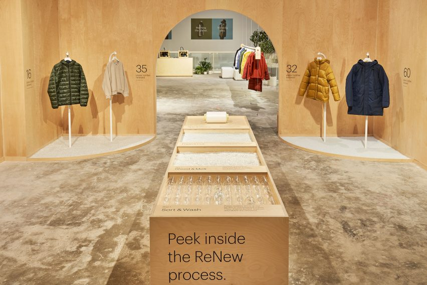 Everlane ReNew pop-up