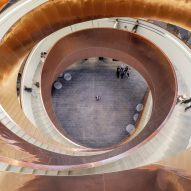 Experimentarium's 10-tonne copper helical staircase revealed in new movie