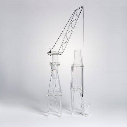 Drawing Glass by Massimo Lunardon curated by Fabrica at Silvera
