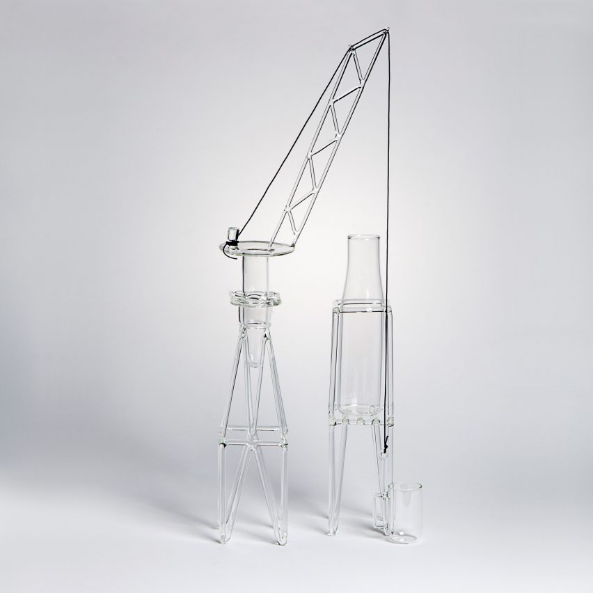 Drawing Glass by Massimo Lunardon curated byFabrica at Silvera