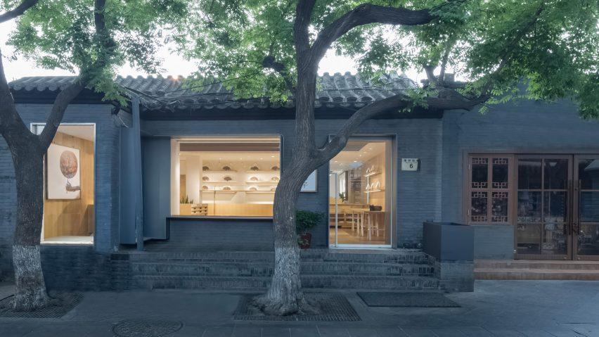 Fan Shop in Beijing by Golucci